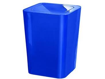 Kleine Wolke 5817748858 James Poubelle à Couvercle Basculant Bleu 19 x 25 cm (Pack de 2)