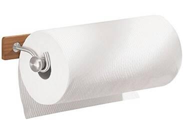 InterDesign Formbu porte-sopalin, support pour papier essuie-tout mural en bambou, beige