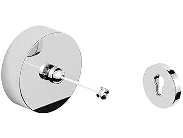 Smedbo FK480 Outline Corde à Linge Laiton/Cuivre/Zinc Argent 9 x 3 x 9 cm