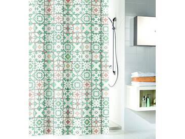 Kleine Wolke Textilgesellschaft Rideau de Douche, Fibres Synthétiques, Multicolore, 200x180 cm