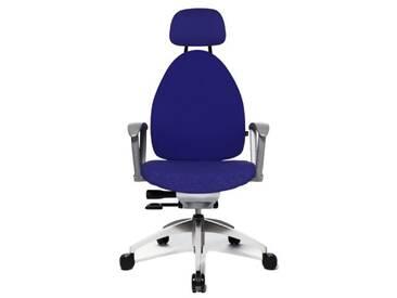 Topstar Open Art 20 Chaise de bureau pivotante Garnissage souple et confortable Blue(1)