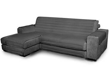 Elegant Housse pour canapé avec méridienne Moderne 190 cm Fumo