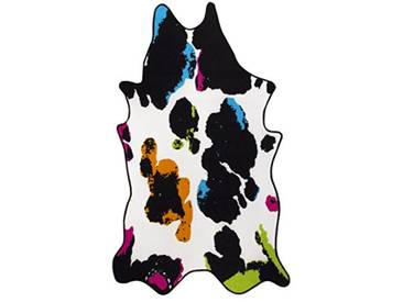 andiamo Amarillo Tapis en Peau synthétique, Multicolore, 133x220