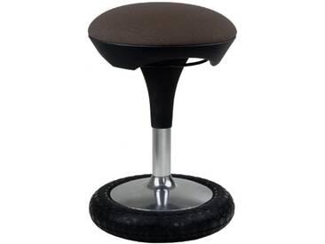 Topstar SI69G08 Sitness 20 Chaise de Bureau Marron Foncé 41 x 41 x 56 cm