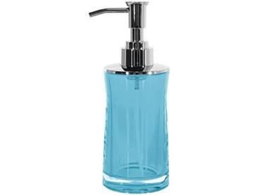 Spirella 10.1778 sydney distributeur de savon en acrylique transparent/acqua