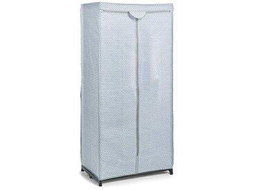 Zeller 14617Textile–Armoire en Tissu Non-tissé, Non-tissé, weiß, 75 x 50 x 160 cm