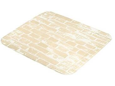 Kleine Wolke Textilgesellschaft 4108226002 Wall, Plastique, Beige, 55 x 55 x 0,3 cm