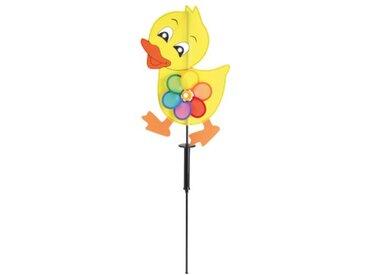 Näve 5093303 Moulin à vent solaire décoratif en forme de canard avec piquet