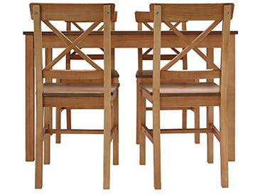 Furniture 247 - Roble Ensemble de salle à manger - Naturel