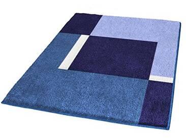 Kleine Wolke 4598769225 Dakota Tapis de Bain Polyacrylique Bleu 70 x 120 cm