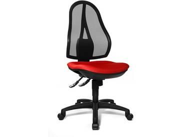 Topstar OP200G21 Open Point SY Chaise de Bureau Rouge 48 x 48 x 111 cm