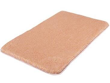 Kleine Wolke Textilgesellschaft 5405414207 Tapis de Bain, Synthétique, Saumon, 50 x 80 x 3 cm