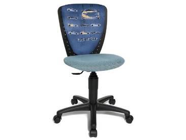 Topstar 70570JD3 Chaise de bureau chambre denfant Bleu