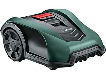Bosch tondeuse robot connectée Indego S+ 350 (avec application dédiée, largeur de coupe de 19 cm, superficie de pelouse jusqu'à 350 m²)