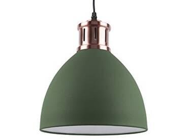 Leitmotiv LM1409 Lampe à Suspension, Fer, 40 W, Vert, Taille M