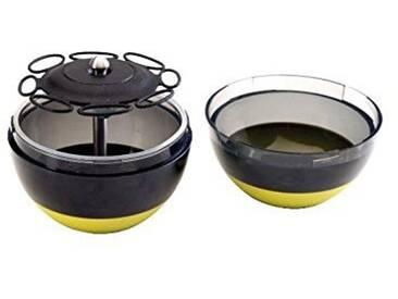 Ibili 786400 Émulsifiant dassaisonnement pour salades + batteur à oeuf Innova&Cook
