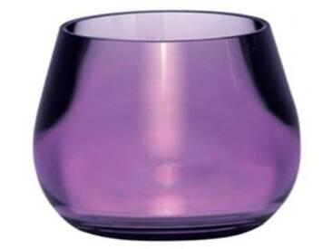 Kleine Wolke 5057872852 Bowl Gobelet pour Brosse à Dents Aubergine 8,5 x 8,5 cm