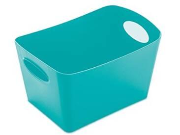 Koziol 5745619 Boxxx Boîte de rangement Plastique Turquoise 12.8 x 18.7 x 10.8 cm