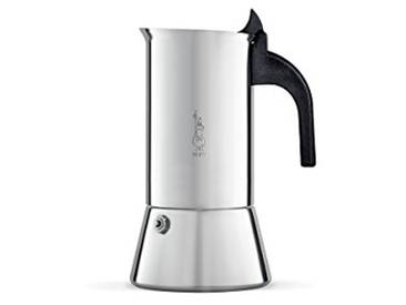 Bialetti - 1682 - Venus Induction - Cafetière Italienne en Inox - 4 Tasses