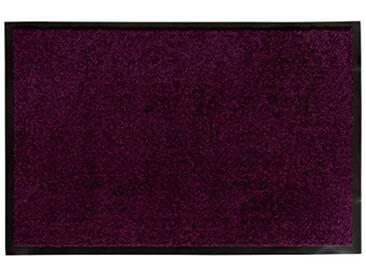 andiamo 700625Paillasson/Tapis de Porte, uni, Lilas, 60 x 90 cm