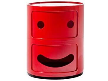 Kartell COMPONIBILI Smile Meuble de Rangement Salon, Plastique, 42 x 32 x 32 cm