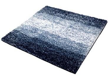Kleine Wolke 4077783135 Oslo Tapis de bain Coton Bleu 60 x 60 x 2 cm