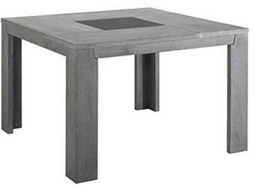 Keo Titan Table carrée 8 Personnes, Chêne, Gris, 140 x 140 x 77,5 cm