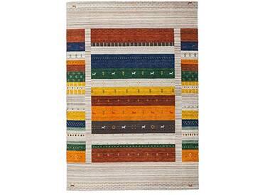 Lalee Tapis Naturel en Laine Fait Main Jaipur 901 Natural 160x230cm Dintérieur, 100, Transparent
