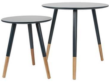 Leitmotiv LM1270 Table Basse MDF, Bleu, Taille M