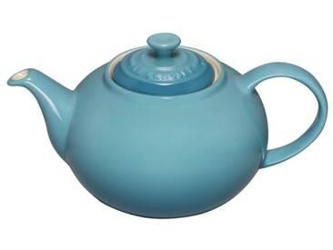 Le Creuset Théière en céramique avec infuseur inox 1L bleu caraïbes