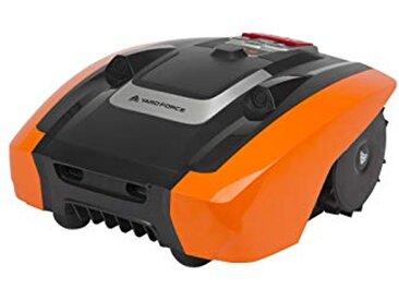Yard Force Tondeuse Robot Electrique AMIRO400 avec Technologie Sensorielle Ultrasonique - Pelouse jusqu'à 400m2, Largeur de coupe 16cm