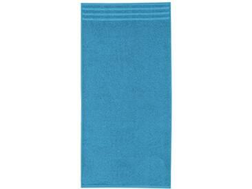 Kleine Wolke 3003754262 Royal Serviette de bain Coton Glace Bleu 50 x 100 x 1 cm