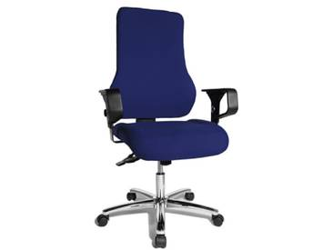 Topstar TO29XG26 Top Point SY Chaise de Bureau Bleu 49 x 49 x 121 cm