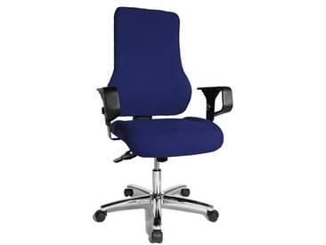 Topstar TO29XG26 Top Point SY Chaise de Bureau Bleu 49 x 49 x 121 cm