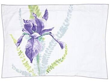 Designers Guild - Antoinette Taie dOreiller Satin de Coton Multicolore 50 x 75 cm
