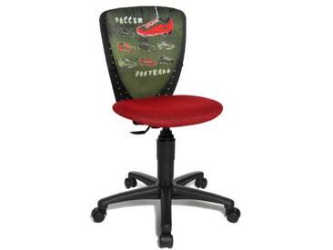 Topstar 70570JD0 Chaise de bureau chambre denfant Rouge