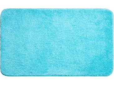 Grund Tapis de Bain 32mm, 100% Polyacrylique, Ultra Soft, antidérapant, certifié teх certifié, Garantie 5Ans, Lex, Lex - Aqua, 60 x 100 cm