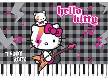 DISNEY LICENCE 458P8 Sanrio Hello Kitty Papier Peint pour Chambre dEnfants Multicolore 368 x 254 cm