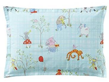 Designers Guild - Musical Animals Taie dOreiller Coton Vert 50 x 75 cm