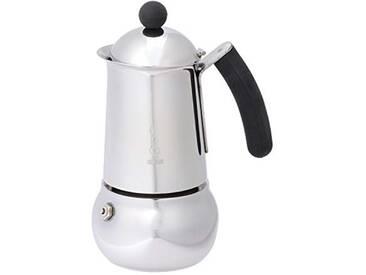 Bialetti 4642 Machine à Expresso pour 4 Tasses, Acier Inoxydable, Argent, 30 x 20 x 15 cm