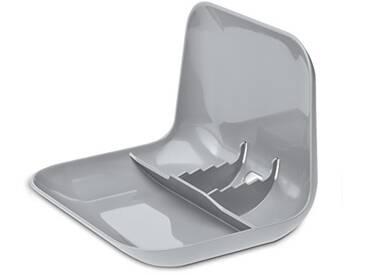 Koziol 5943632 Support pour Tablette Tactile, Plastique, Gris Froid Opaque, 18.600000000000001 x 22.5 x 16.899999999999899 cm