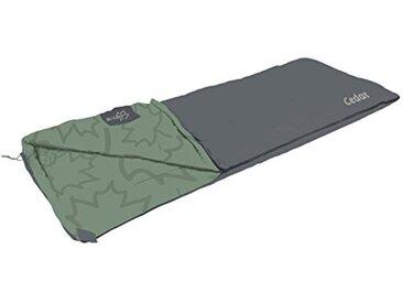 Bo-Camp - LeevZ - Sac de couchage - Cedar - 220x90 cm - Vert/Anthracite