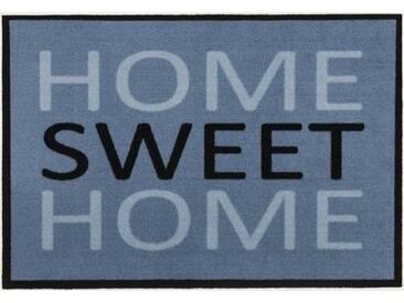 Andiamo 700700 paillasson home sweet home bleu 50 x 70 cm