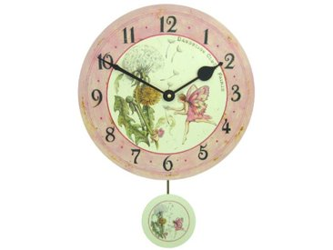 Roger Lascelles Horloge murale avec pendule pour enfant