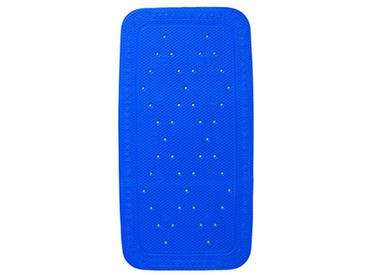 Kleine Wolke 4325732917 Tapis de Baignoire Calypso Set de 2 en Bleu, PVC, 40x30x10 cm
