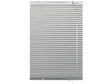 GARDINIA Store Vénitien en Aluminium, Fixation au Mur et au Plafond, Kit de Montage Inclus, Store Vénitien Aluminium, Argenté, 150 x 175 cm (LxH)