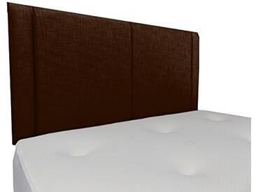Interiors 2Combinaison U Robyn Parure de lit capitonnée, Tissu, Marron, 7.5x 76x 62cm