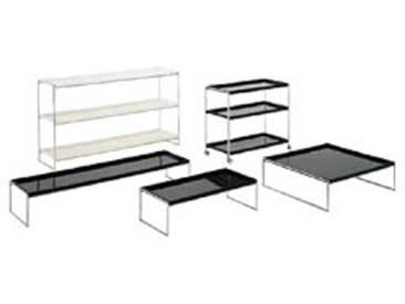 Kartell Trays Table/Chariot, Blanc