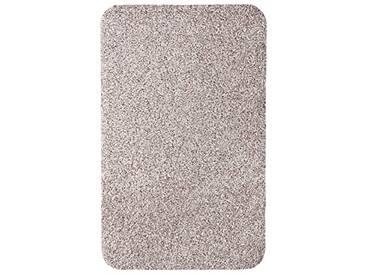 andiamo 700607 Paillasson Samson uni 50 x 80cm en coton, lavable à 30°C, Coton, beige clair, 50 x 80 cm