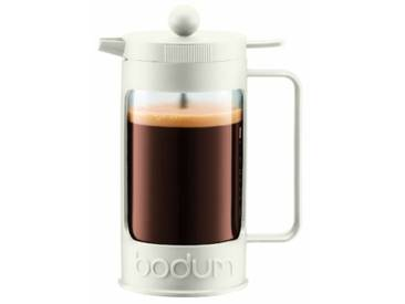 Bodum - 11375-913 - Bean - Cafetière à Piston 3 Tasses - 0,35 L - Blanc